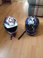 Full faced helmets forsale