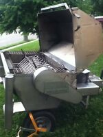 Stainless steel pig roast BBQ for rent