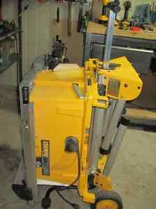 DEWALT Table Saw, Model DW744, portable, wheeled Cambridge Kitchener Area image 2