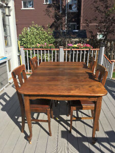 Walnut Dining Table - Antique Beautiful