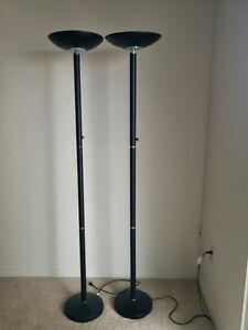 Two Modern Bright Lamps