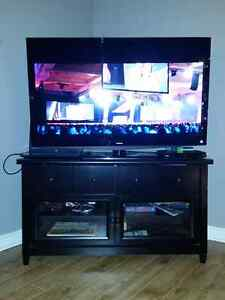 "50"" Toshiba LED tv and stand."