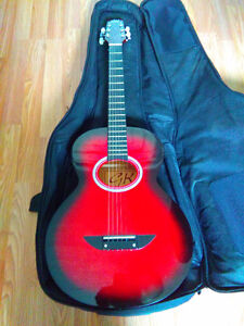 Junior GK acoustic guitar (3/4 size) with case