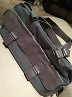 Rudsak Atelier Noir Leather and Nylon Gray Purse