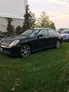 2004 Infiniti G35x Sedan AS IS IF AD IS UP IT IS STILL AVAILABLE
