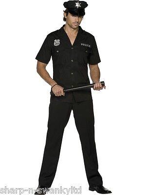 Erwachsene Herren Sexy Polizei Polizist Rettungsdienste Uniform Kostüm - Sexy Polizei Kostüme Herren