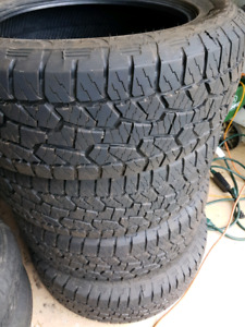 275/55R20 Hankook Dynapro tires for Ford F150