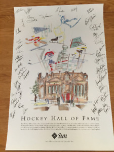 Hockey Hall of Fame poster