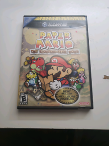 Paper Mario the Thousand-Year Door Game Cube