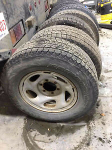 TOYOTA TUNDRA winter tires with rims