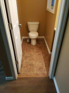 2 Bedroom, 1 Washroom, with basement, living room and kitchen.