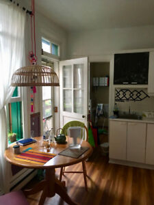 AUGUST SUBLET: 5 1/2 Apartment in the Plateau