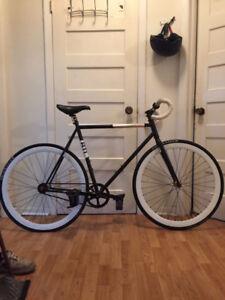 fixed gear bike, YNOT straps, Krptyonite lock  300obo
