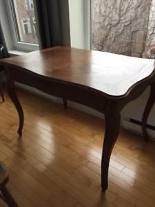 """Table bureau antique style """"Louis XV - Transition"""""""