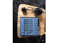 ALESIS Multimix sub 8 channel FX Mixer.
