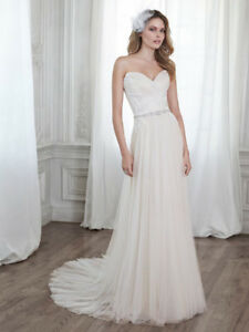 Maggie Sottero Patience Wedding Dress - Size 4