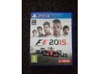 F1 2015 PS4 for sale !
