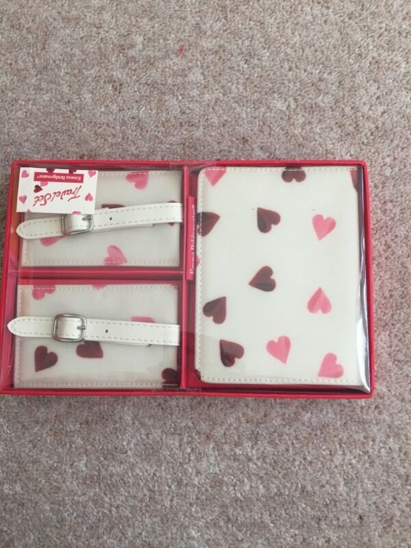 Emma Bridgewater travel set brand new