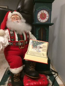Articulating Santa Claus with Music