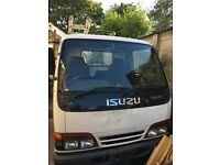 Isuzu NKR 3.0 litre turbo drop side pick up truck 96k aluminium bed