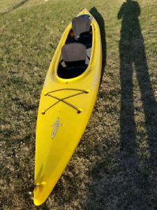 Kayak double Dagger 14' avec 2 pagaies et veste