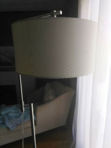 Floor lamp modern with foot switch