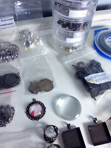 Vintage Style Rings, Necklaces, Bobby Pins, Earrings Supplies Kitchener / Waterloo Kitchener Area image 5