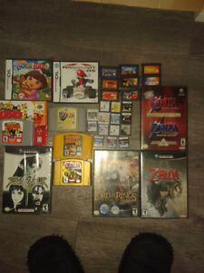 console et jeux n64 game cube ds gba xbox ps1 ps2
