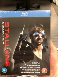 Sylvestor Stallone collection blu-ray set - SEALED