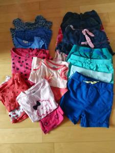 Vêtements d'été fille 3 ans