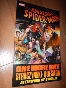 Amazing Spiderman One More Day collected edition