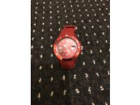 Unisex red Ice watch
