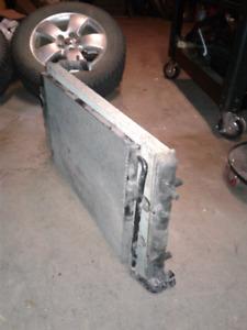 MK4 VW radiator and AC condenser