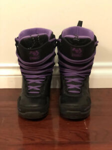 Dime Women Snowboard Boots Size US 7.5 Europe 38 - $60