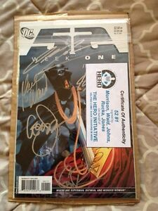 DC's 52 #1: Autographed 5x in NM!