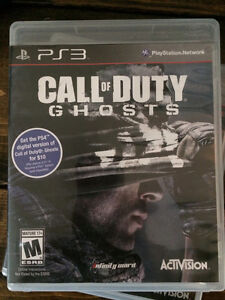 COD GHOSTS PS3 CALL OF DUTY