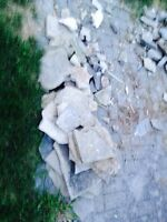 Landscaping rock/bricks/pavers/fill