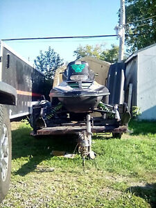 utility trailer with rear tailgate/ramp