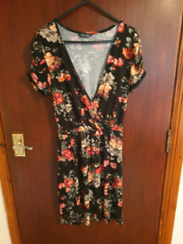 Flower Print Dress Size 10