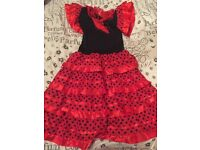 KIDS SPANISH DRESS 6-7