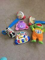 Toddler toy lot.