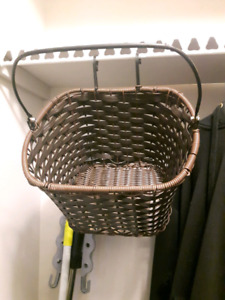 Vinyl Bicycle Basket