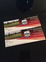 Two rounds anytime at Riverbend in Red Deer