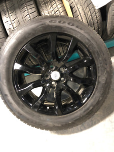 """Land/Range Rover Wheel/Tire Kit 20""""With Goodyear Summers 1999$!!"""