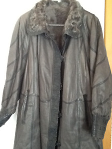 Beautiful soft leather coat