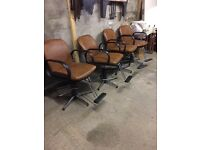 Salon / barber chairs