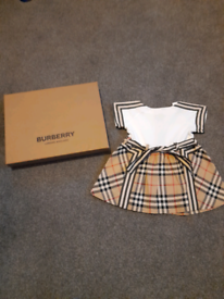 Baby burberry dress 3-6 month