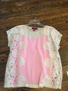 TED BAKER LACE TOP FOR SALE - SIZE MEDIUM