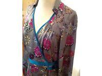 St Martins Scandinavian design wrap shirt brand new