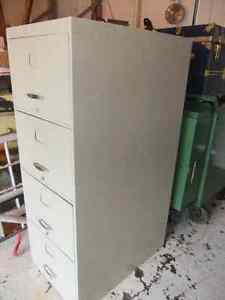 4 drawer vertical legal size metal filing cabinet